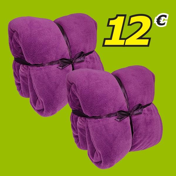 Pack 2 Mantas Coralina